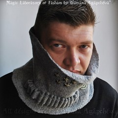 #men #military #grey #scarf #cowl #neckwarmer #urban #knight #etsy #gift #giftgiude #wool #cozy #warm #fashion #winter #sale #homme #bullet #army cargo #accessory #forhim #him #eco #natural #organic #unisex #designer