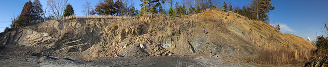 Unknown quarry, Cambrian shale and sandstone, Roane County, Tennessee