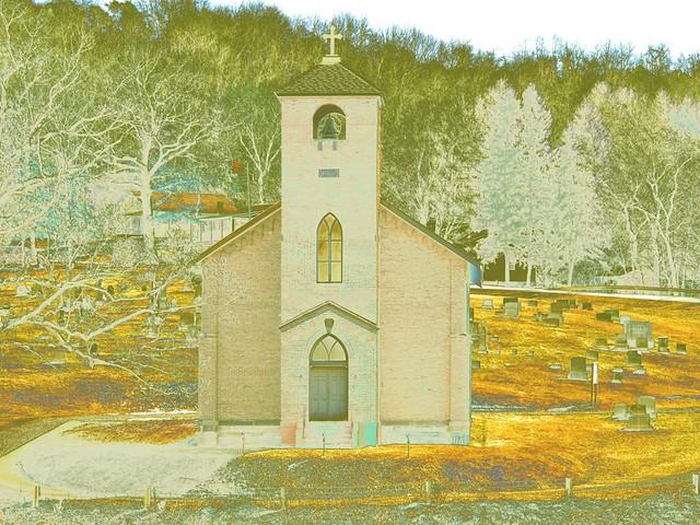 Church near Slate Lick, Armstrong County, Pennsylvania