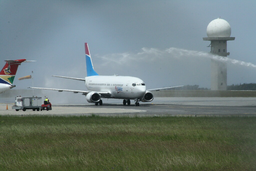 FlySafair inaugral flight to George -   - Africa's Low-Cost Airlines