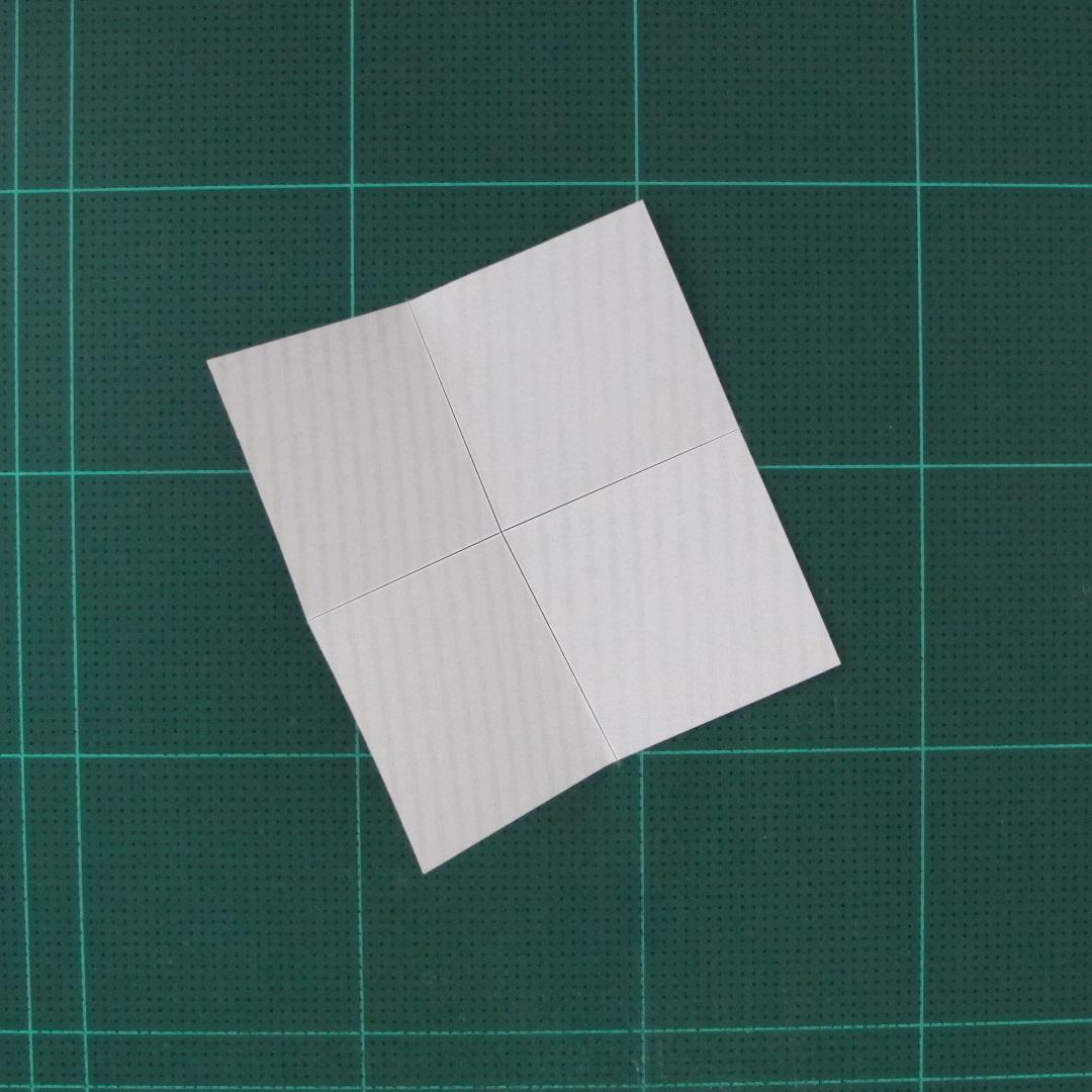 วิธีทำหรีดห้อยหน้าประตูสำหรับวันคริสต์มาส (Christmas wreath origami and papercraft) 003
