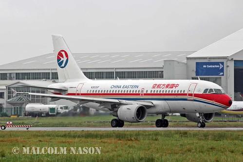 A319-112 N303SF (ex B-2332) CHINA EASTERN