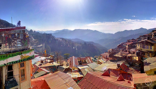 View from The Mall, Shimla | by bharatjusta
