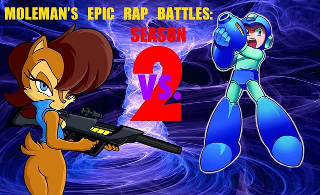Moleman's Epic Rap Battles #17: Sally Acorn Vs. Mega Man 2