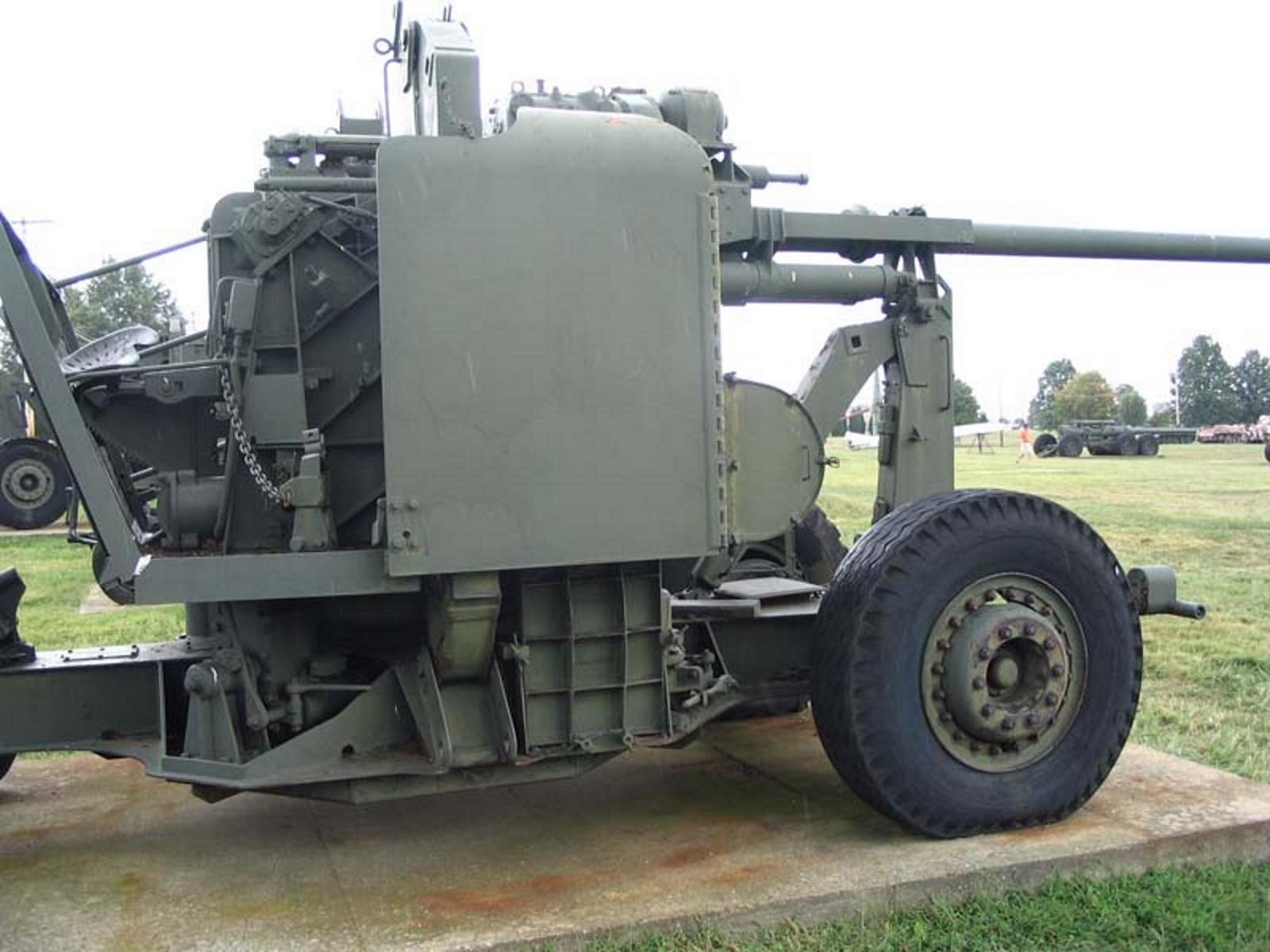 US 90mm M2 Anti-Aircraft Gun 2