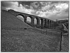 Low Gill Viaduct at Beck Foot Cumbria