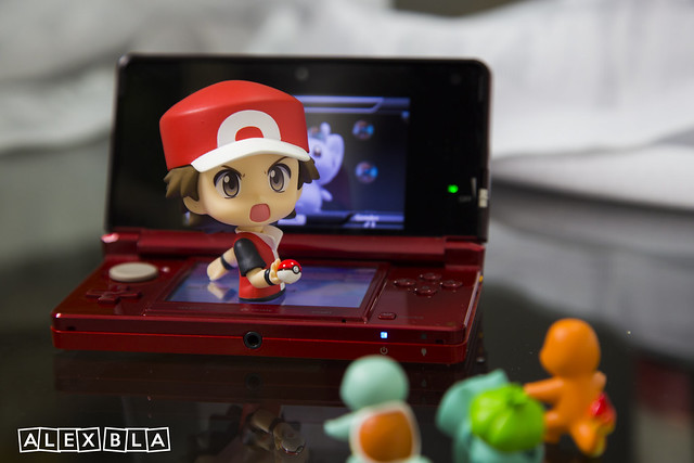 Red Nendoroid 3ds
