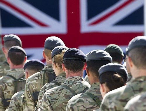 British Troops Remembering the Fallen in Afghanistan | by Defence Images