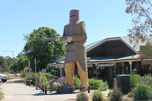 Ned Kelly @ Glenrowan Post Office | by mertie.