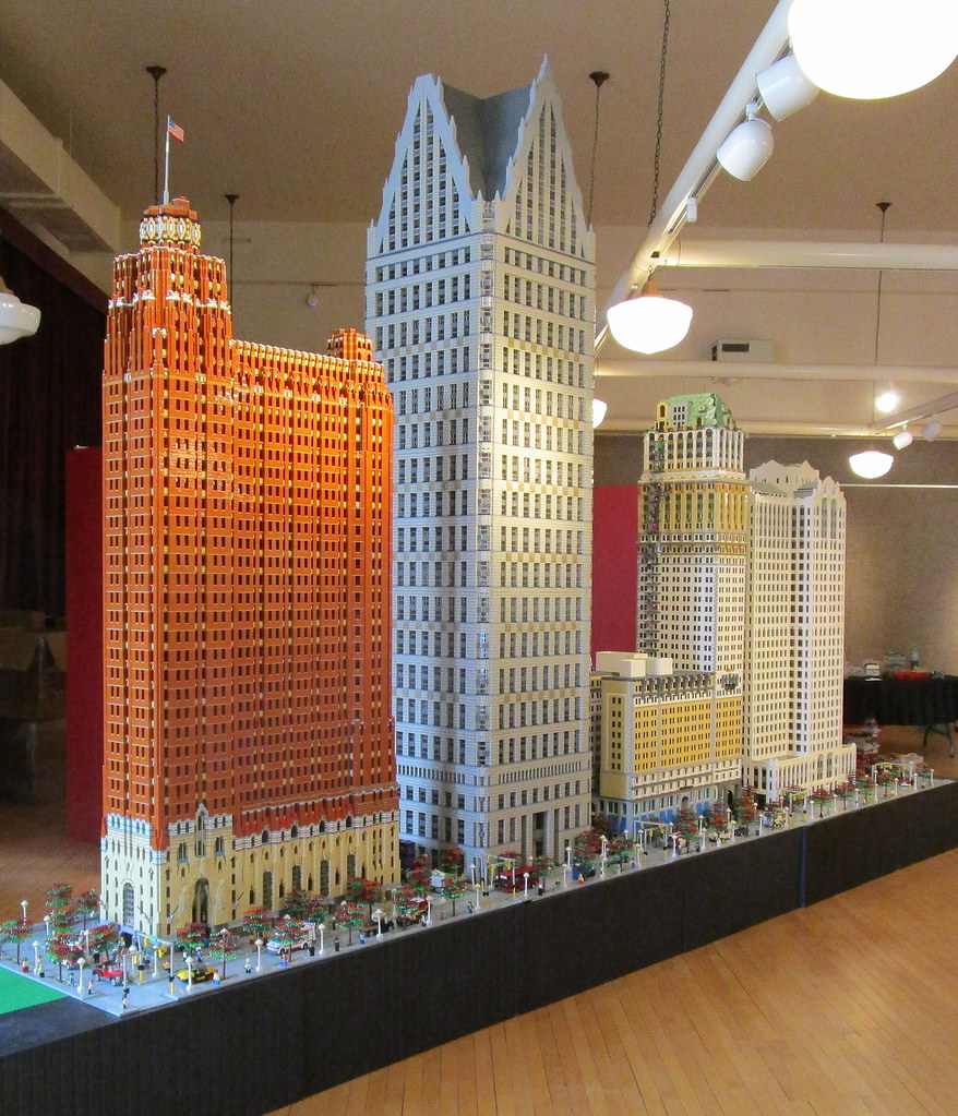 Detroit Lego Display At Saginaw Castle Museum The Lego Dis Flickr