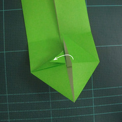 การพับกระดาษเป็นรูปแรด (Origami Rhino) 009