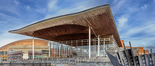 Senedd roof | by AlexDMartin