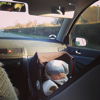 They see me rollin. #baby #kurt #roadtrip | by Kom fremad Donna