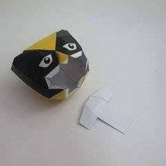 วิธีทำของเล่นโมเดลกระดาษ วูฟเวอรีน (Chibi Wolverine Papercraft Model) 021