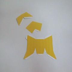 วิธีทำของเล่นโมเดลกระดาษ วูฟเวอรีน (Chibi Wolverine Papercraft Model) 006