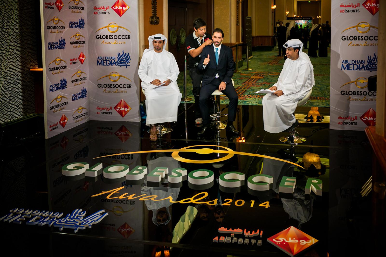 Globe Soccer Awards 2014