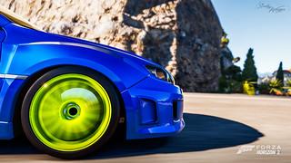 Lime STI Wheel   by ScoobyWagon (Video Games)