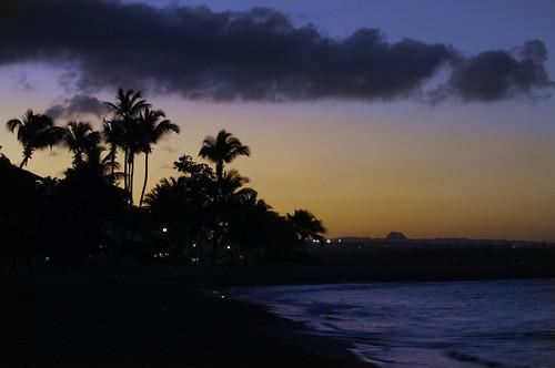 sunset beach playa plage