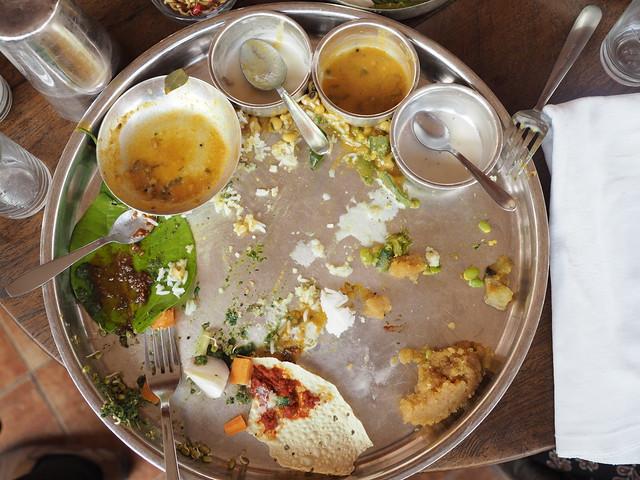 Indian Food Thali Agashiye Restaurant House of MG Ahmedabad