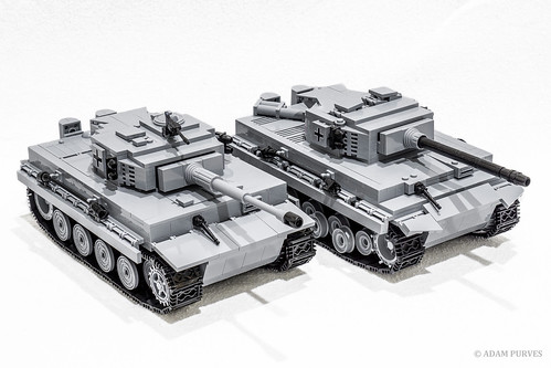 Comparison of Tiger I's from COBI | by Adam Purves (S3ISOR)