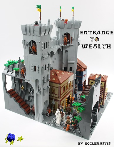 Entrance to wealth