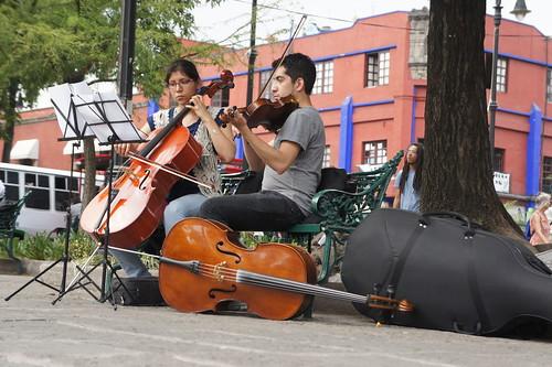 Musicians in Coyoacan