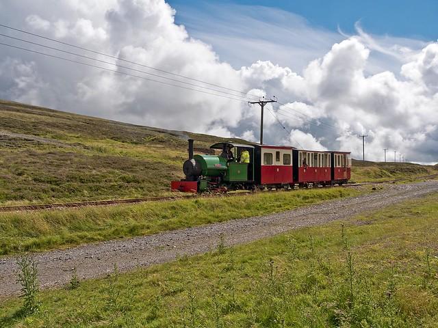 WOTO at the Leadhills and Wanlockhead Railway