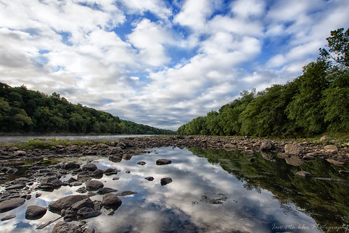 d7200 river massachusetts sigma water sky morning trees rocks reflection