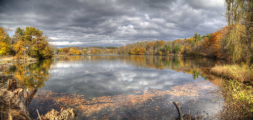 ny reflection october photomerge philmont 2014 thereservoir summitlake singlerawhdr