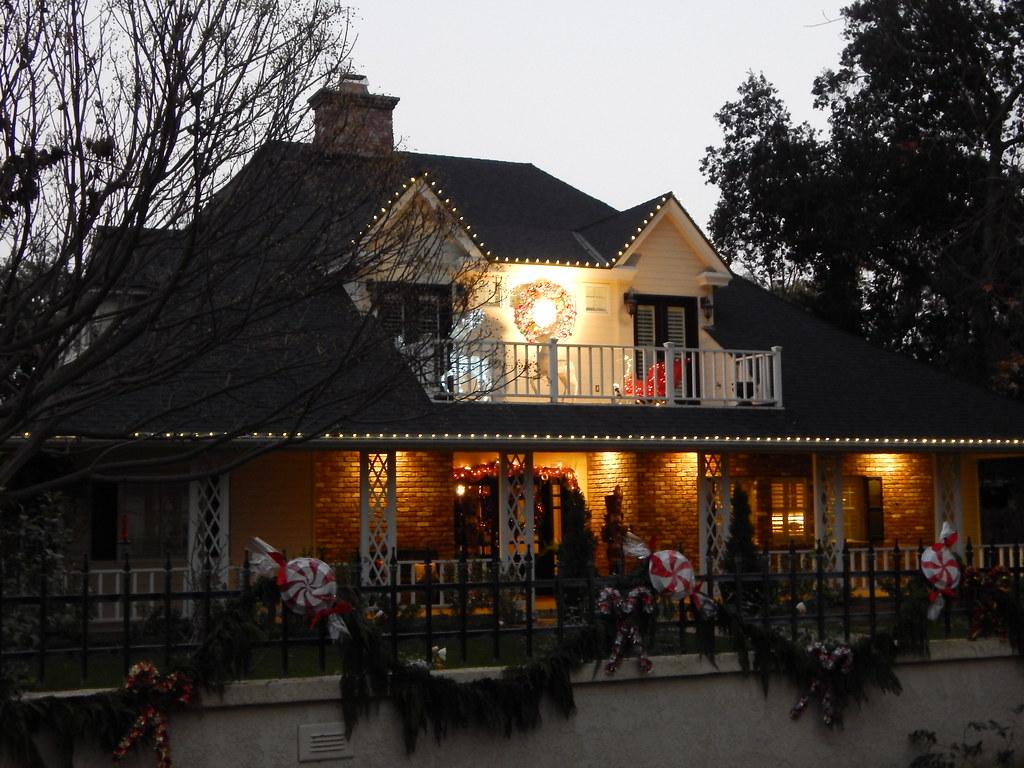 Christmas Tree Lane at twilight   Van Ness Blvd - Fresno CA   Flickr