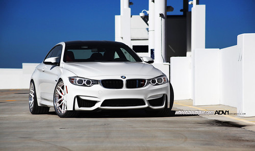 BMW M4 on ADV005 Track Spec CS Spec | by wheels_boutique