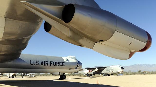 B36, with B52 in Background, Pima Air Museum, Tucson, Arizona