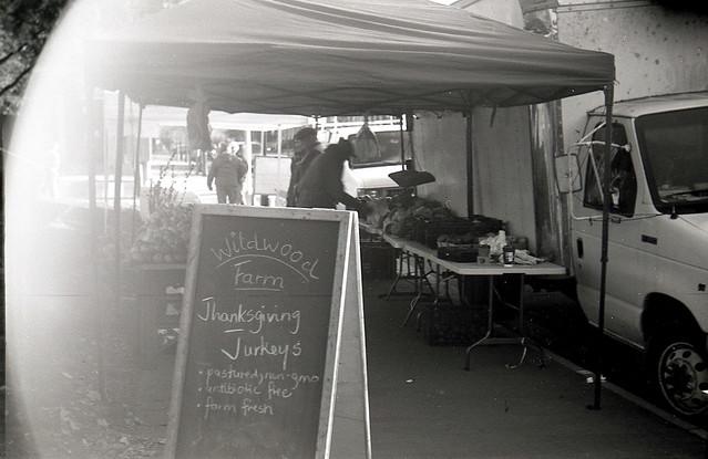 Farmers Market week before Thanksgiving