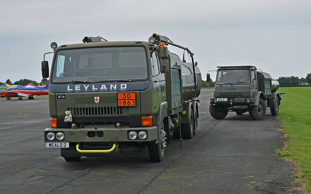 Leyland Refueller and Bedford MK Refueller