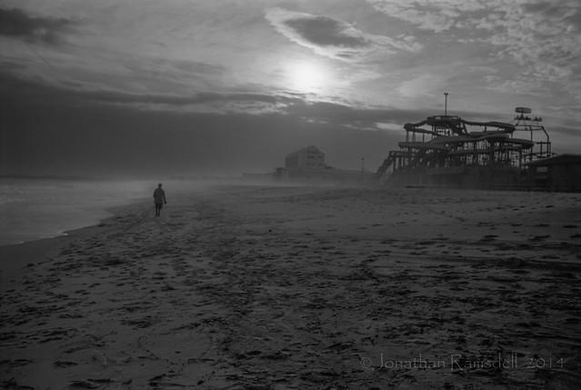 Fog Walker, Old Orchard Beach 1984