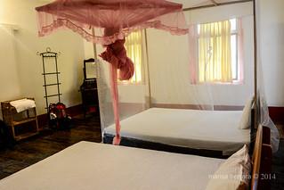 Jaffna. Habitación Hotel.