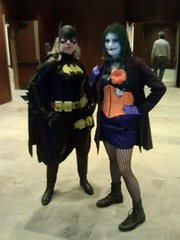 Batgirl and Joker