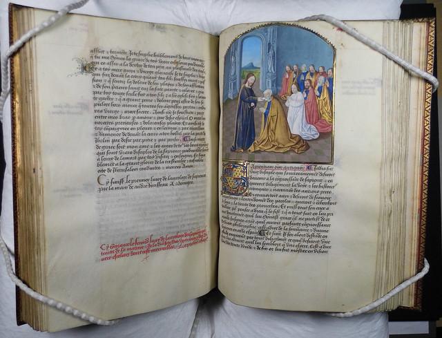 Heinrich Seuse: Horloge of Wisdom (Bourges: André Rousseau, 1470)