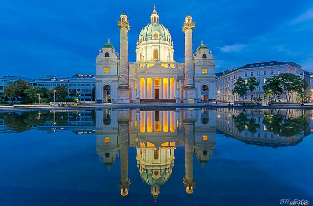 Karlskirche, Wien/Österreich