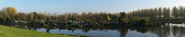Hobby gardens, Noordendijk, Dordrecht