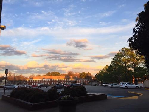 clouds newportnews