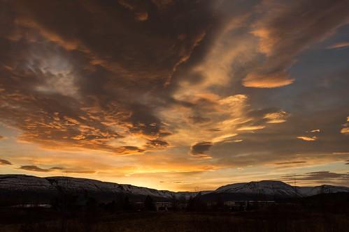 sky sunshine sunrise iceland ísland eyjafjordur akureyri einarschioth