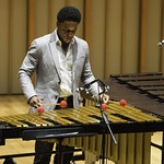 The Stefon Harris Trio at Zipper Concert Hall, Friday, October 24, 2014. Photos reproduced by Bob Barry's kind permission.