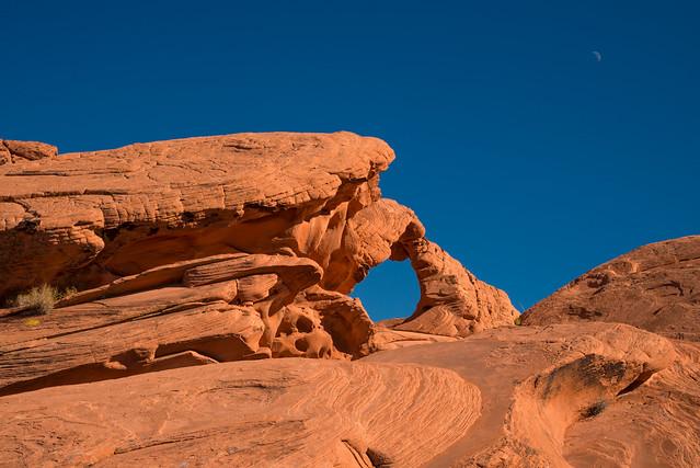 Arch Rock & Moon