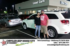 Dodge City McKinney Texas Chrysler Jeep Dodge Ram SRT Dallas Dealer Testimonials Customer Reviews -Jessica Payne