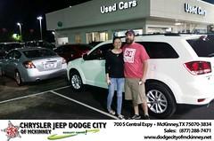 Dodge City McKinney Texas Chrysler Jeep Dodge Ram SRT Dallas Dealer Testimonials Customer Reviews -Jessica Payne