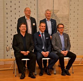 Årets domargäng med den nye konsulenten Jappie Dijkstra