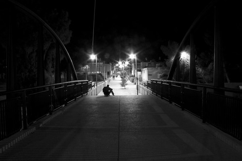 street light night nuit