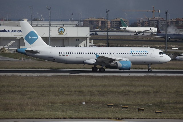 9K-CAL Airbus A320 IST 21Oct2014