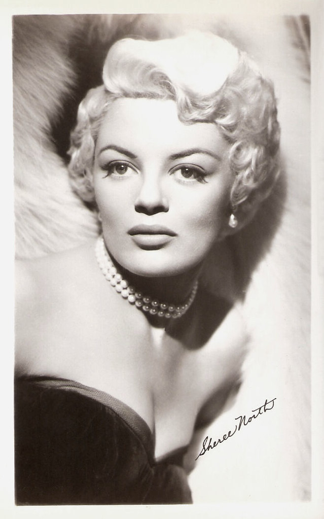 Sheree North | Vintage postcard. American film and ...